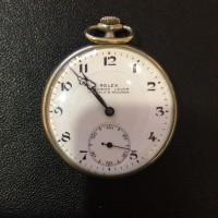 プレシジョン 懐中時計 手巻き