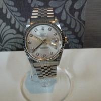デイトジャスト 10Pダイヤ 腕時計
