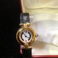 カルティエ マストコリゼヴェルメイユ 腕時計 レディース SV925 ♪みのおキューズモール店♪