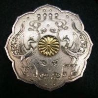 皇室 下賜品 鳳凰文八陵鏡形 ボンボニエール ☆芦屋店☆