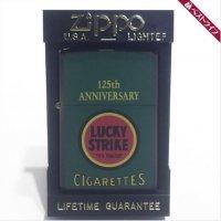 ジッポー オイル ライター ラッキーストライク 125周年記念 XIII USA製☆北花田店